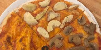 vegan in varadero mrs verde restaurant salsa suarez vegane pizza