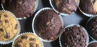 vegan backen mit dr. oetker mrs verde backmischung muffins