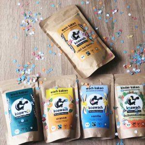 Koawach Eis Veganer Koffein-Kakao von Koawach