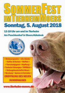 sommerfest tierheim moers 2018