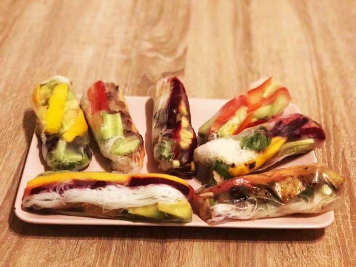 Vegane Snackballs von Kato Veganic Sommerrollen vegan rezept blog