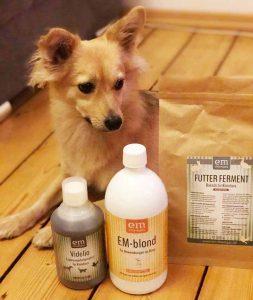 em chiemgau ergänzungsfutter nachhatliges zubehör für hunde mikroorganismen