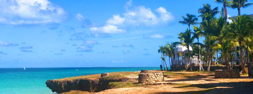 Hotel Melia Varadero von außen Meer Felsen Sehr gute Bewertung Empfehlung