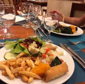 buffet hotel melia varadero vegan abendessen