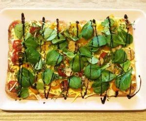 veganer flammkuchen mit bedda und dr oetker