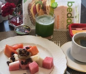 Frühstück vegan Hotel Melia Varadero Cuba