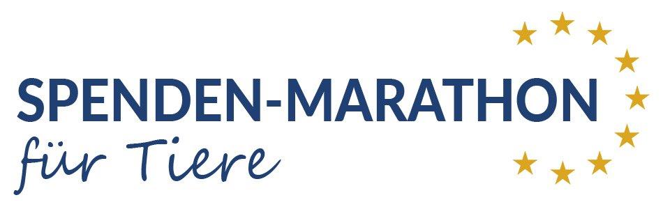 Logo Spenden-Marathon für Tiere
