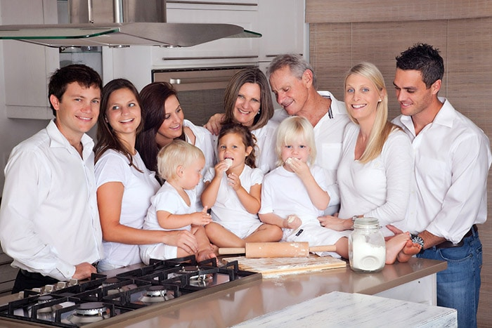 Familie Fry aus Afrika