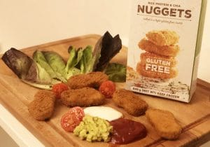 chicken nuggets vegan fry family food